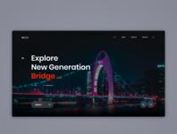 BU. - Landing Page uxdesign uidesign business ui design clean user experience user interface page landing creative web ux ui design