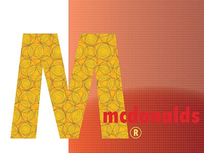 mcdonalds branding logo 36daysoftype vector typography illustrator illustration design graphic