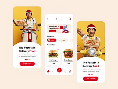 food app illustration ui ux figmadesign design