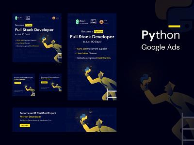Google Ads Python ads goo logo typography vector illustration ui ux branding designer figmadesign design
