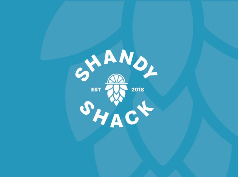 Shandy Shack Rebrand branding can design illustration icon hop brand strategy brand identity brand design rebrand logodesignersclub shandyshack beercan beerlogo logodesigner logodesign logo