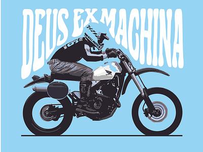 DEUS Art logodesigner brand identity logo design artwork motorbike brand design logodesign illustration illustrator artist deus ex machina