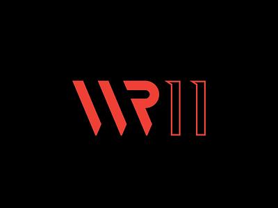 WR11 Logo Design nightclub flyer nightclub logo brand design logodesign illustration branding logodesigner