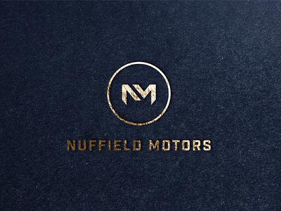 Nuffield Motors Rebrand icon vector brand identity design logodesigner carservice car garage carlogo luxury logo car brand strategy logo brand design branding