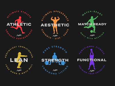 N Performance - Program Logos logo logodesign brand identity design icons icon design pt logo gym brand design brand design brand strategy gym logo design gym branding logodesigner branding personal trainer branding personal trainer personal trainer logo