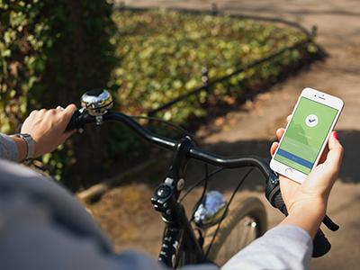 iphone 6 & bike - 8 photo mockups
