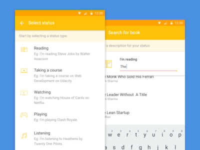 Samepinch Android app