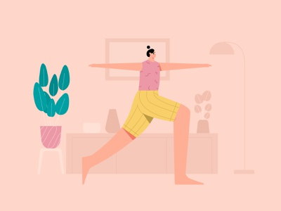 Woman Yoga Meditation Illustration meditation yogas mindfulness n vector flat illustratio woman health wellness fitness yoga pose yoga illustration illustration yoga app exercise yoga