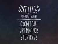 The Untitled Font