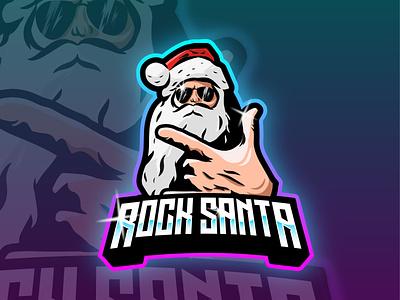 rock santa logo e-sport fiverr design fiverrgigs fiverr logo sub badges emotes icon emotestwitch design twitch logo logo game logoesport gaming gamers gamer logo esport