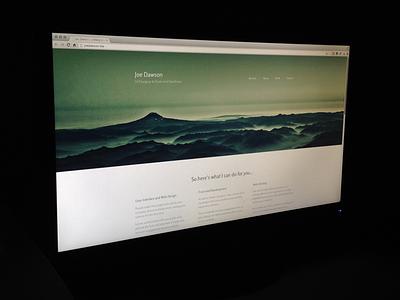 New Personal Site portfolio personal web