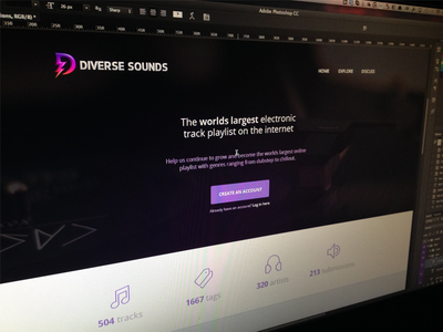 Diverse [wip] web ui diverse sounds home