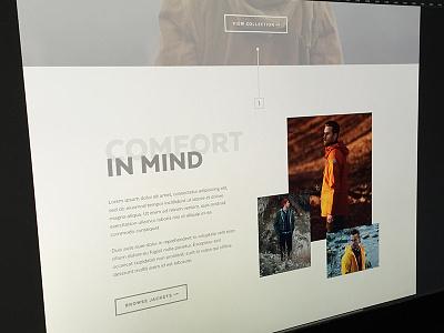 Design Exploration web ui exploration landing