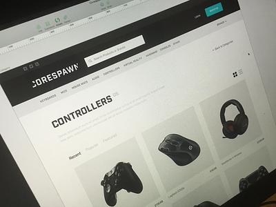 Shop sketch gaming ecommerce shop