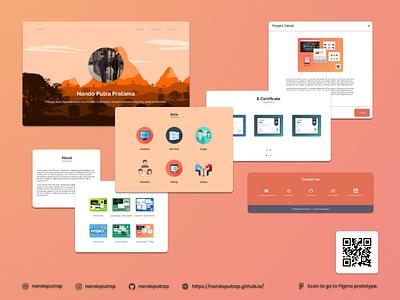 Nando's Portfolio profile front-end carousel javascript css html jquery bootstrap portfolio responsive website landing page