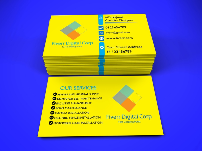 Business Card 2 Mockup