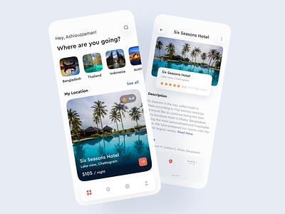 Travel App travel app design travel ui travel app travel hotel booking tour app design ui design ui  ux design ux ui app