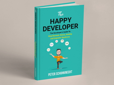 BOOK ABOUT DEVELOPER vector ui flat illustration minimal design branding logo book cover
