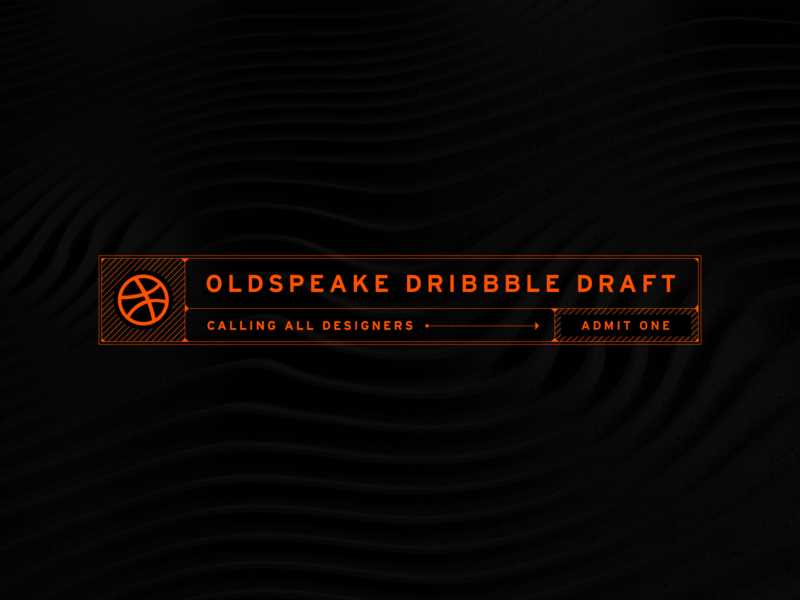 Oldspeake Dribbble Draft dribbble texture clean design draft