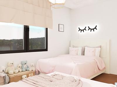 Girls Room Design By Mert Gultekin On Dribbble