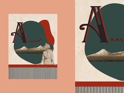 "Poster ""Ararat"" ararat graphicdesign adobe illustrator typography adobe photoshop design poster"