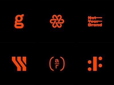 PFM.ARC design branding icon logos collection archive instagram brand identity identity logo design brand logo