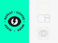 COFFEE · WORK · SLEEP · REPEAT