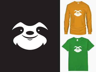 Sloth Sundy for sale everpress sleepy lazy sunday logo icon animal tshirt sloth