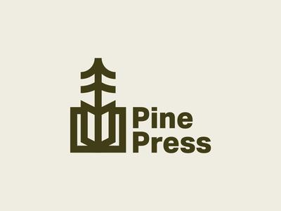 Pine Press Logo Concept