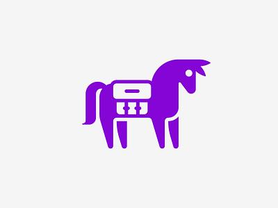 Mule 🐴 icon baggage nomad travel luggage courier horse donkey