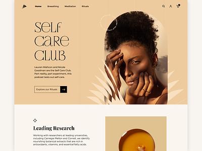 #SelfCareClub web luxury boutique care selfcare ui
