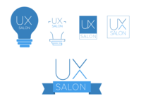 UX Salon Logo Sheet salon ux logo