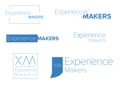 Experience Makers Logo Sheet makers experience logo