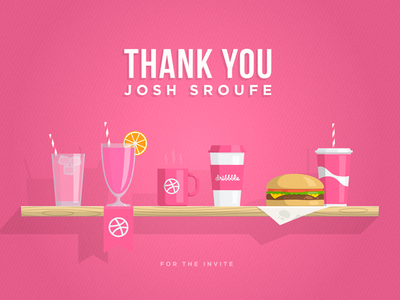 Thank you Josh Sroufe