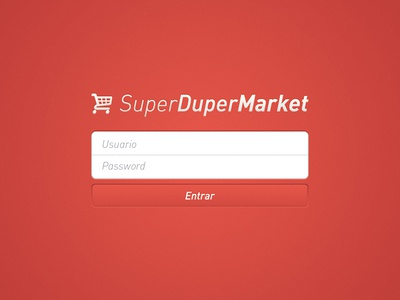 SuperDuperMarket Login