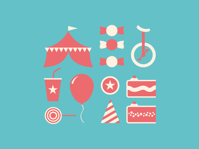 Icons for Franco's Birthday