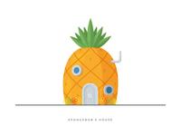 4. Spongebob's House