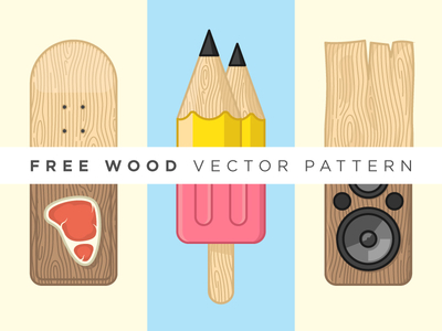 Free Wood Vector Pattern