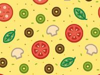Ricosquesos pizza pattern iphone