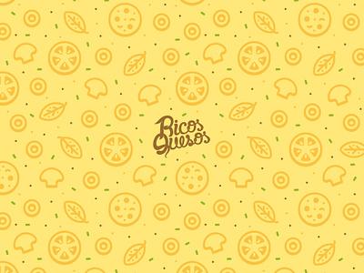 Free Wallpaper: Pizza Pattern freebie wallpaper pizza pattern iphone ipad desktop desk kitchen food pepperoni stroke