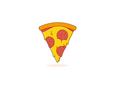 33. Brosmind's recipe tribute brosmind cartoon illustration food melt cheese pepperoni slice pizza