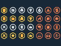 Entretiempos badges