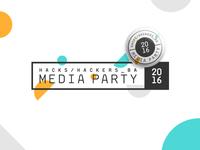 MediaParty 2016: Logo
