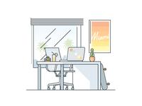 Miami Desk