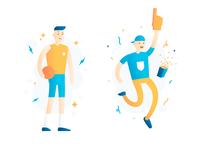 Athlete & Fan