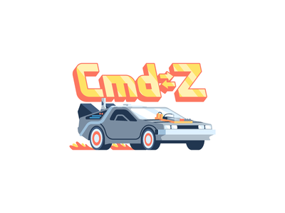 Cmd➭Z: iOS free sticker pack