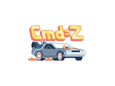 Cmd➭Z: iOS free sticker pack ios free pack sticker car delorean future back z command cmd