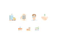 Grō Capital Homepage Illustrations