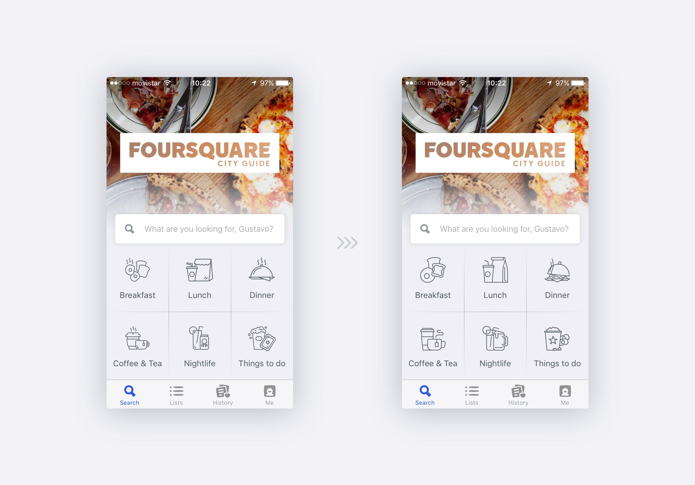 Foursquare icons comp