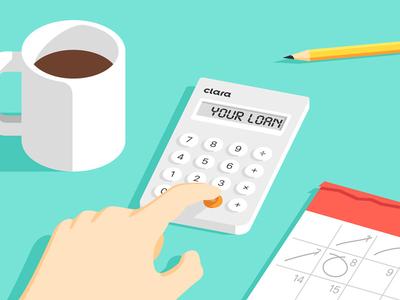 Clara: Loan Amortization Schedule